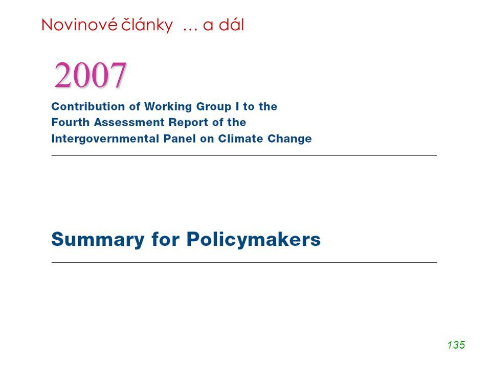 135 Novinové články … a dál 2007