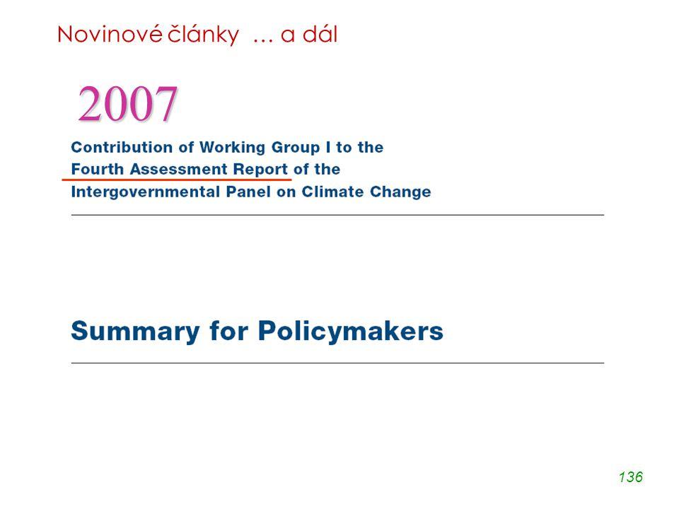 136 Novinové články … a dál 2007