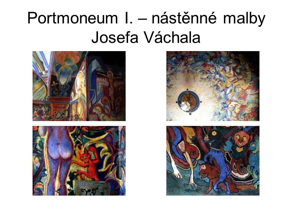 Portmoneum I. – nástěnné malby Josefa Váchala