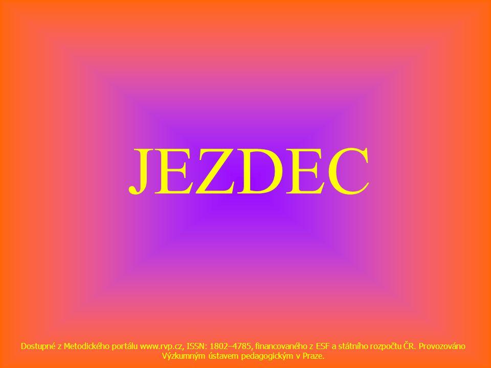 JEZDEC Dostupné z Metodického portálu www.rvp.cz, ISSN: 1802–4785, financovaného z ESF a státního rozpočtu ČR. Provozováno Výzkumným ústavem pedagogic