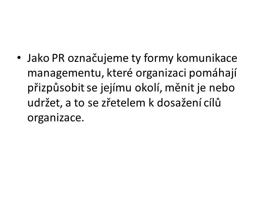 Jaká je účinnost PR? Pro nápovědu klikněte sem