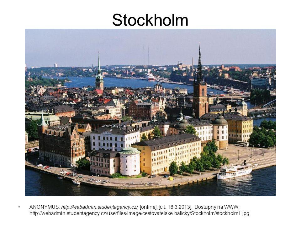 Stockholm ANONYMUS. http://webadmin.studentagency.cz/ [online]. [cit. 18.3.2013]. Dostupný na WWW: http://webadmin.studentagency.cz/userfiles/image/ce