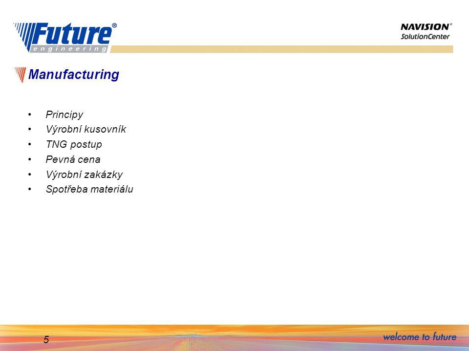 16 Struktura výrobku - kusovník