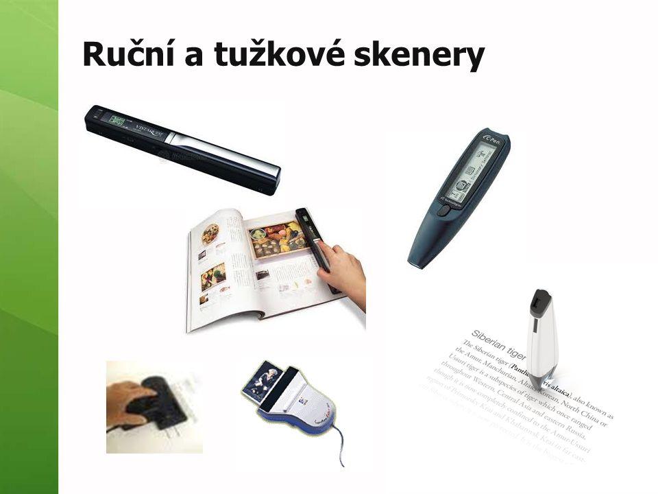 Ruční a tužkové skenery