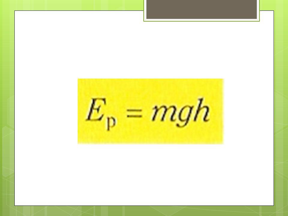  Polohová energie souvisí s polohou. Vždy závisí na hmotnosti, výšce a gravitačním zrychlení.