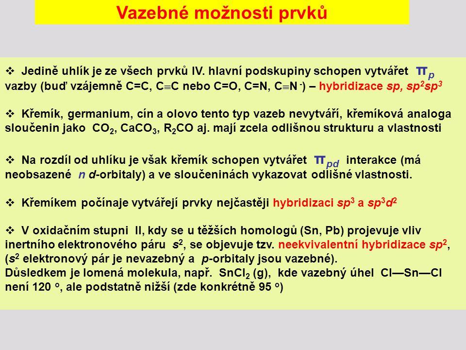 Deriváty kyseliny uhličité Diamid karbonylu CO(NH 2 ) 2 (močovina) Výroba: karbamidan amonný močovina Hnojivo, krmivo, výroba aminoplastů (močovino-formaldehydové pryskyřice) Estery amidouhličité kyseliny (RO)CO(NR 2 ) (karbamáty) vysoce účinné pesticidy