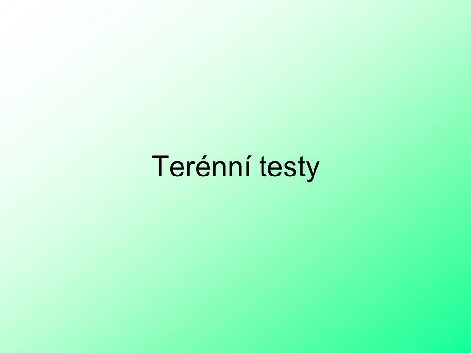 Terénní testy