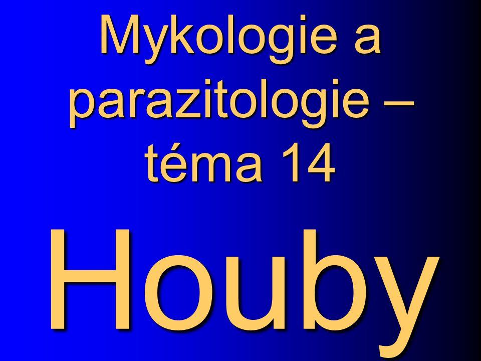 Mykologie a parazitologie – téma 14 Houby