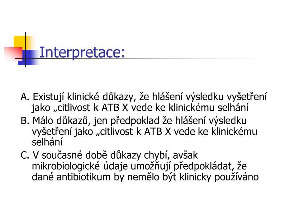 Interpretace: A.