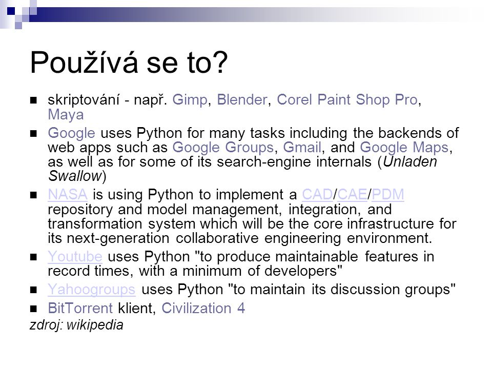 Python vs.