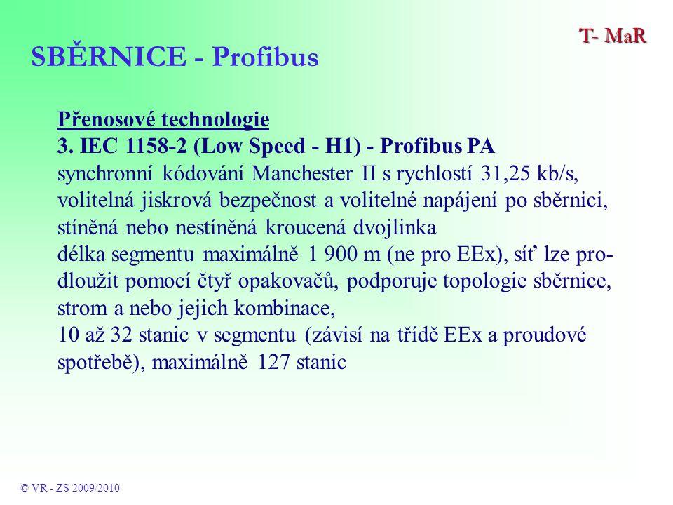 Přenosové technologie 3.