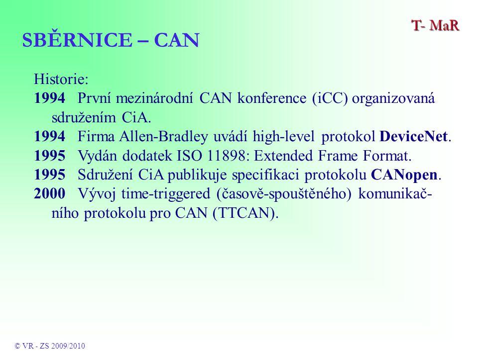 Historie: 1994 První mezinárodní CAN konference (iCC) organizovaná sdružením CiA.