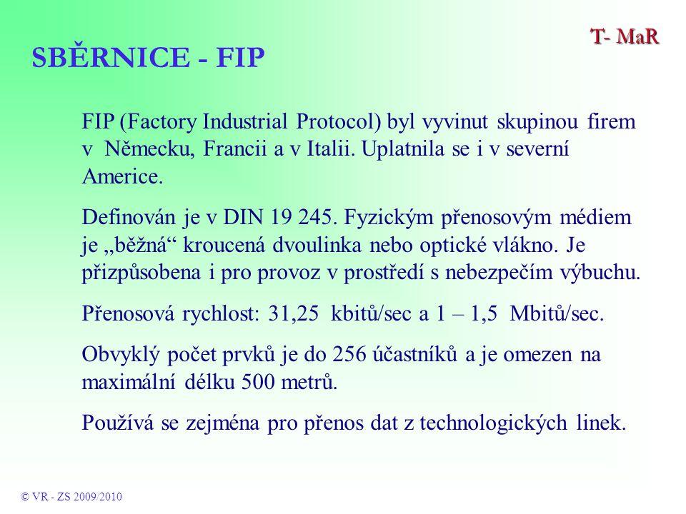 FIP (Factory Industrial Protocol) byl vyvinut skupinou firem v Německu, Francii a v Italii.