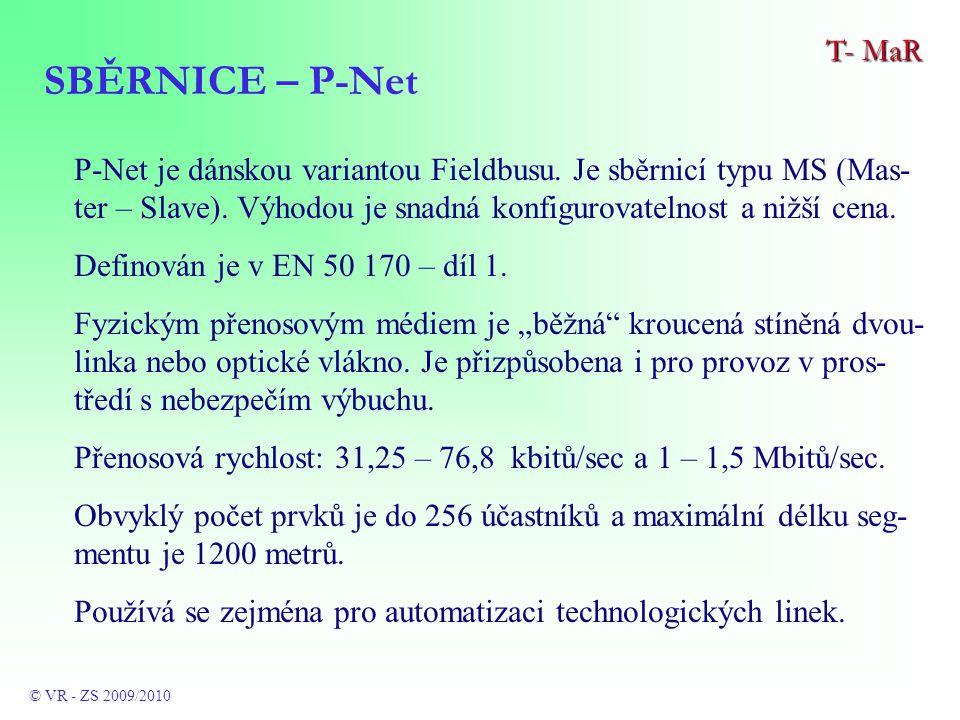 P-Net je dánskou variantou Fieldbusu. Je sběrnicí typu MS (Mas- ter – Slave).