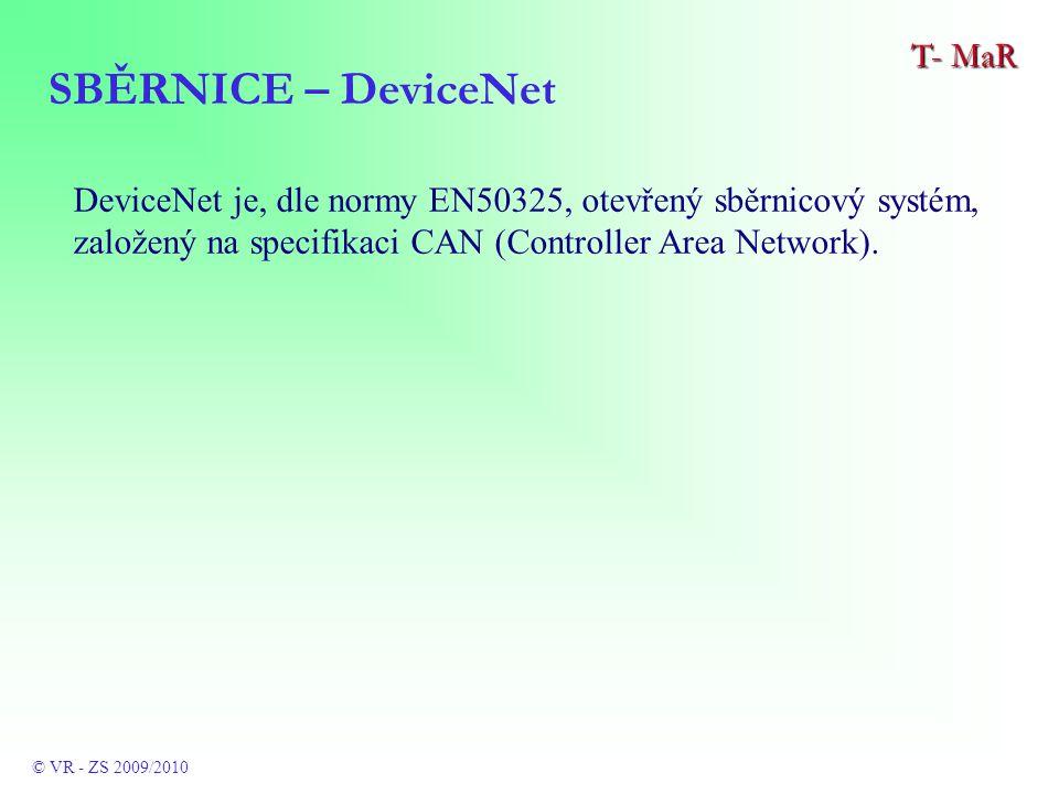 DeviceNet je, dle normy EN50325, otevřený sběrnicový systém, založený na specifikaci CAN (Controller Area Network).