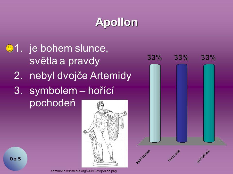 Řecké náboženství bylo polyteistické. Souhlasíte? 1.Ano 2.Ne 0 z 5