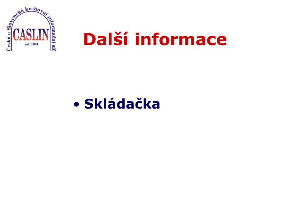 Sestaví OpenURL (NISO standard od 2002), pošle: metadata, ident.