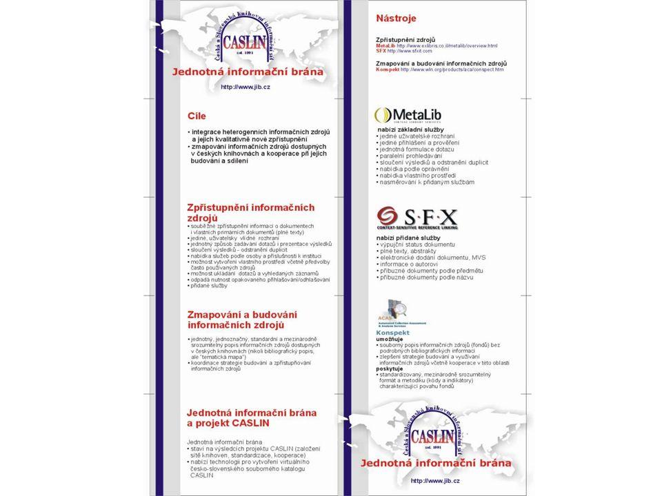 Obor Kastomizované a personalizované služby: Popis a administrace uživatelů Uživatelský profil e-schránka Zprávy, vzkazy Historie Autentikace a autorizace
