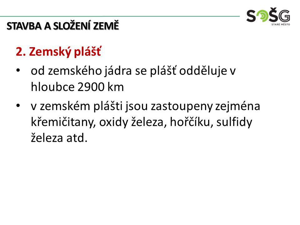 STAVBA A SLOŽENÍ ZEMĚ 2.