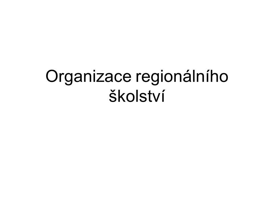 Organizace regionálního školství