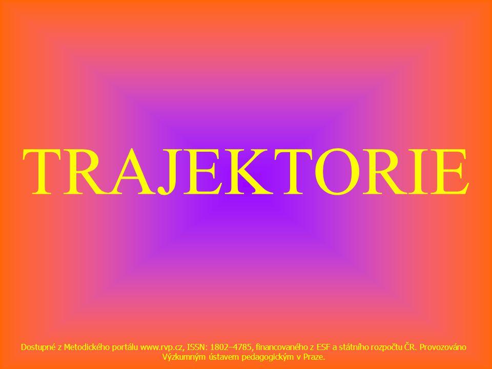 TRAJEKTORIE Dostupné z Metodického portálu www.rvp.cz, ISSN: 1802–4785, financovaného z ESF a státního rozpočtu ČR.