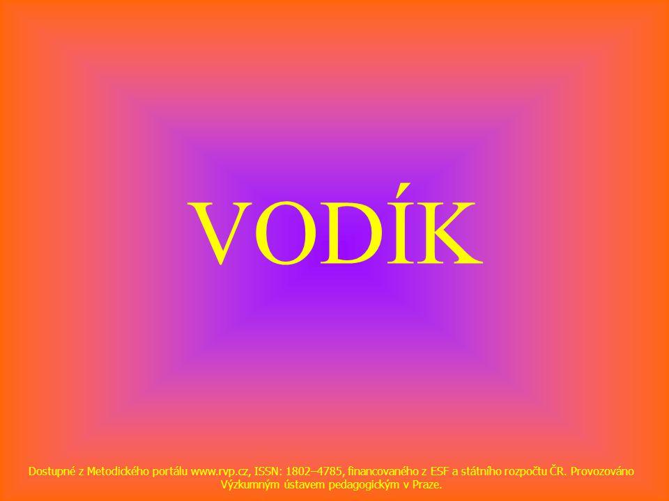 VODÍK Dostupné z Metodického portálu www.rvp.cz, ISSN: 1802–4785, financovaného z ESF a státního rozpočtu ČR.