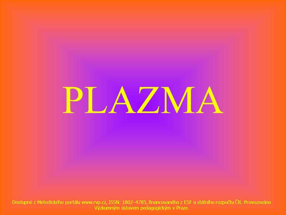 PLAZMA Dostupné z Metodického portálu www.rvp.cz, ISSN: 1802–4785, financovaného z ESF a státního rozpočtu ČR.