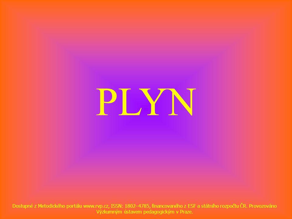 PLYN Dostupné z Metodického portálu www.rvp.cz, ISSN: 1802–4785, financovaného z ESF a státního rozpočtu ČR.