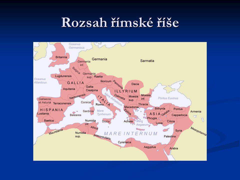 Rozsah římské říše
