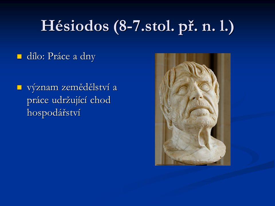 Hésiodos (8-7.stol.př. n.
