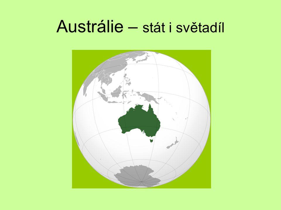 Základní údaje Oficiální název AUSTRALSKÝ SVAZ Státní zřízení: FEDERATIVNÍ STÁT KONSTITUČNÍ MONARCHIE Hlava státu: KRÁLOVNA ALŽBĚTA II (v zastoupení - generální guvernér/ka) Hlavní město: CAMBERRA
