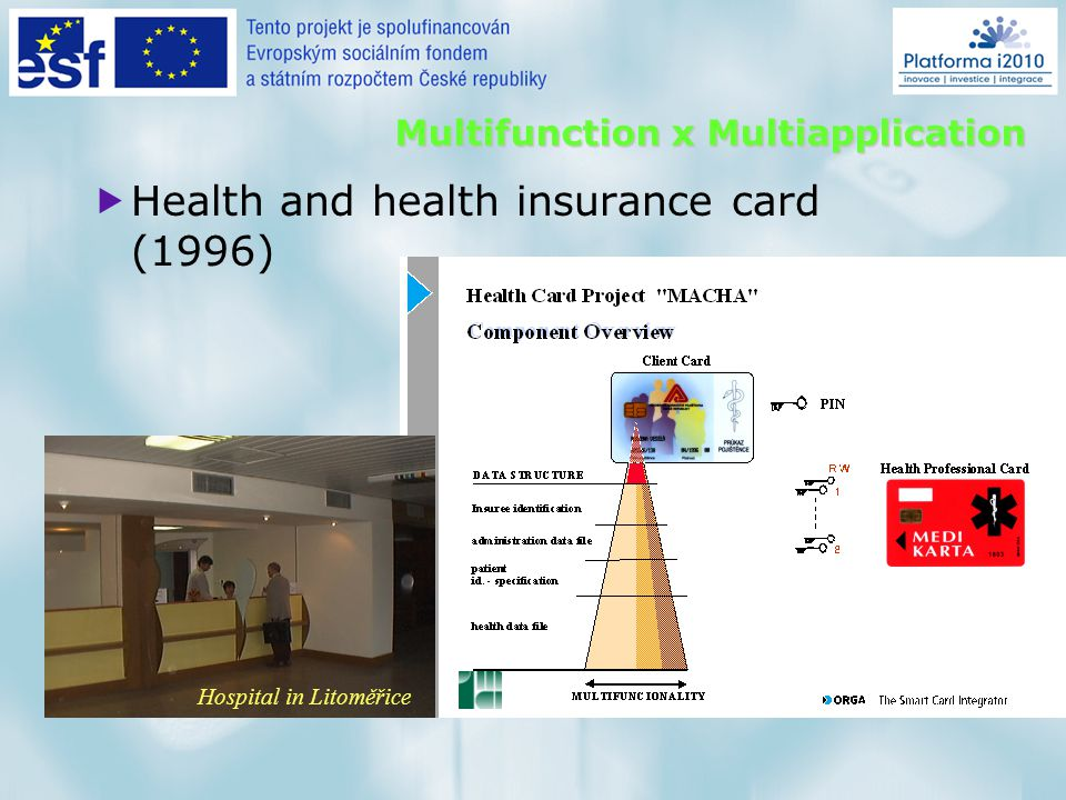 Running Portal EHIC database SmartCard database Target for 2006 EHIC & SC database