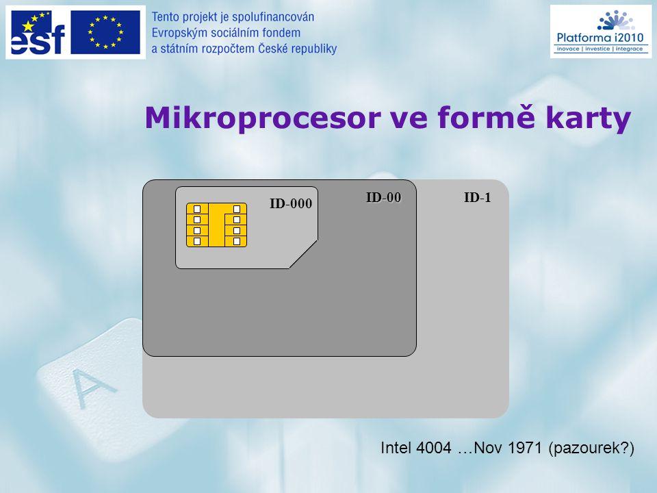 Motto  (kdysi módní) mikroprocesory způsobily veřejnou dostupnost počítačů do ruky , a to doslova pro každého…  už ne počítačoví odborníci a laici, ale informačně gramotní a negramotní občané  nano a bio technologie odrážejí fyzikální limity mikroprocesů + lépe vystihují nově formulované potřeby svých budoucích uživatelů