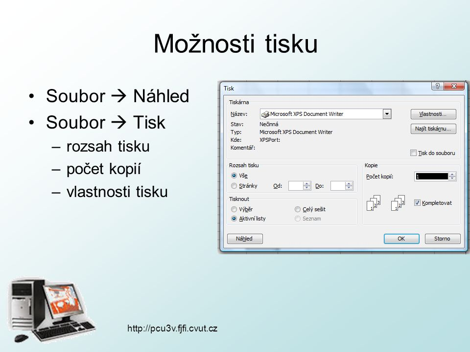 http://pcu3v.fjfi.cvut.cz Excel 2007
