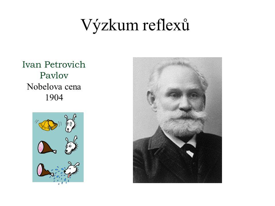 Výzkum reflexů Sir Charles Scott Sherrington Velká Británie Nobel Lecture, December 12, 1932