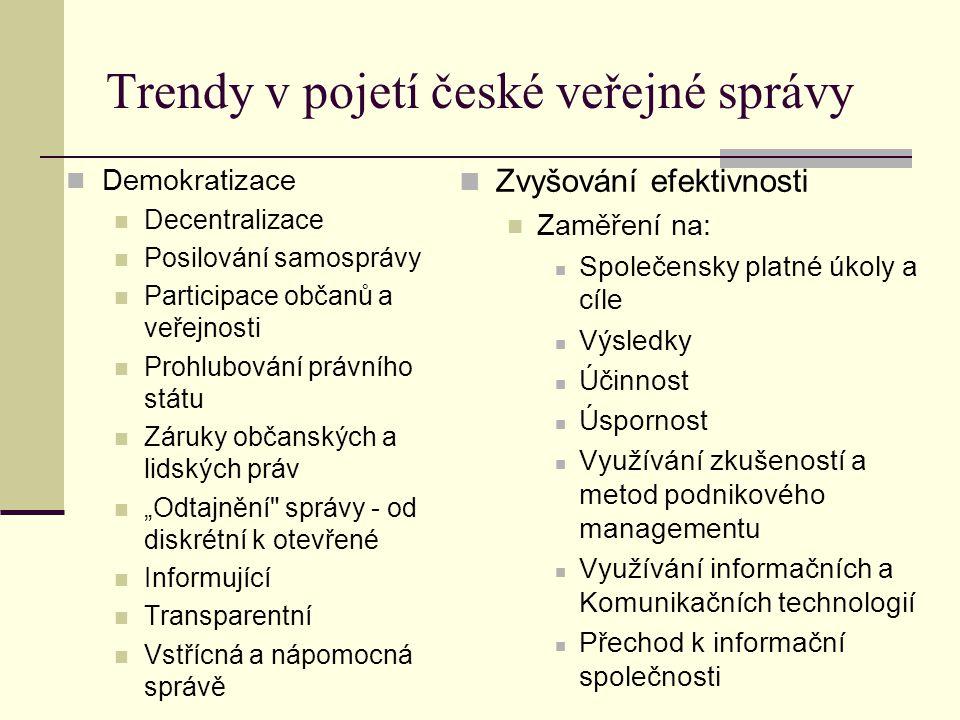 Historie a východiska reformy české veřejné správy Správní reforma v habsburské monarchii Pol.