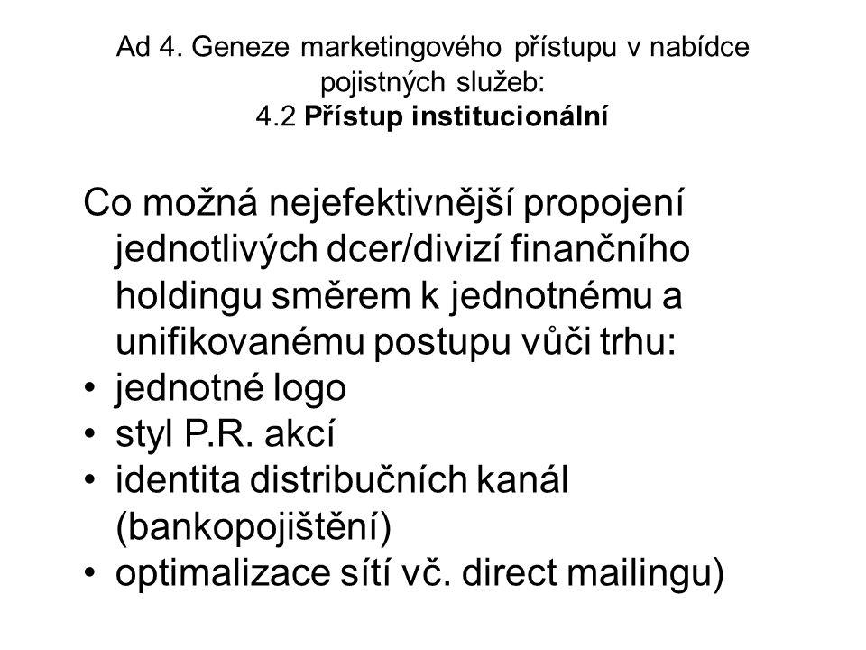 pokračování TRADIČNÍMODERNÍ B.Vztah k partnerům Pro styk s obchodními partnery (vč.