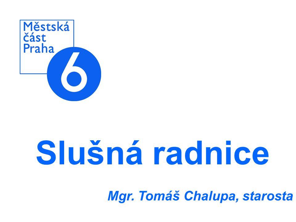 Slušná radnice Mgr. Tomáš Chalupa, starosta