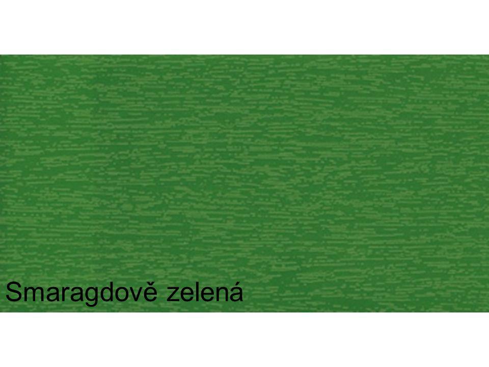 Smaragdově zelená