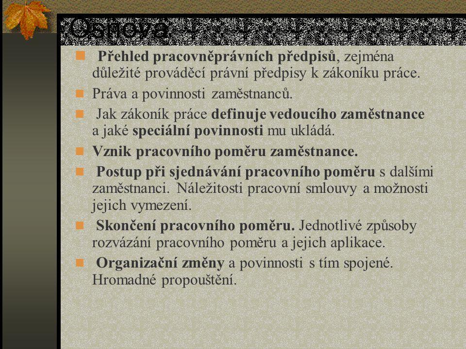 Jmenování, § 33 odst.3, odvolání § 73 odst. 1 ZP V případech § 33 odst.