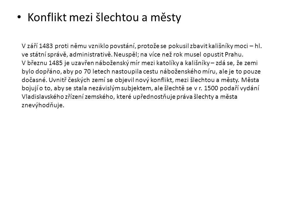 Vladislavské zřízení zemské Zemská zřízení království českého / 1.