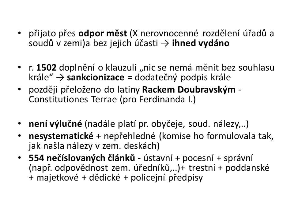 Úpadek v Čechách po smrti Korvína Nový rozměr mocensko-zahraniční vlády Vratislavovy nastane v r.