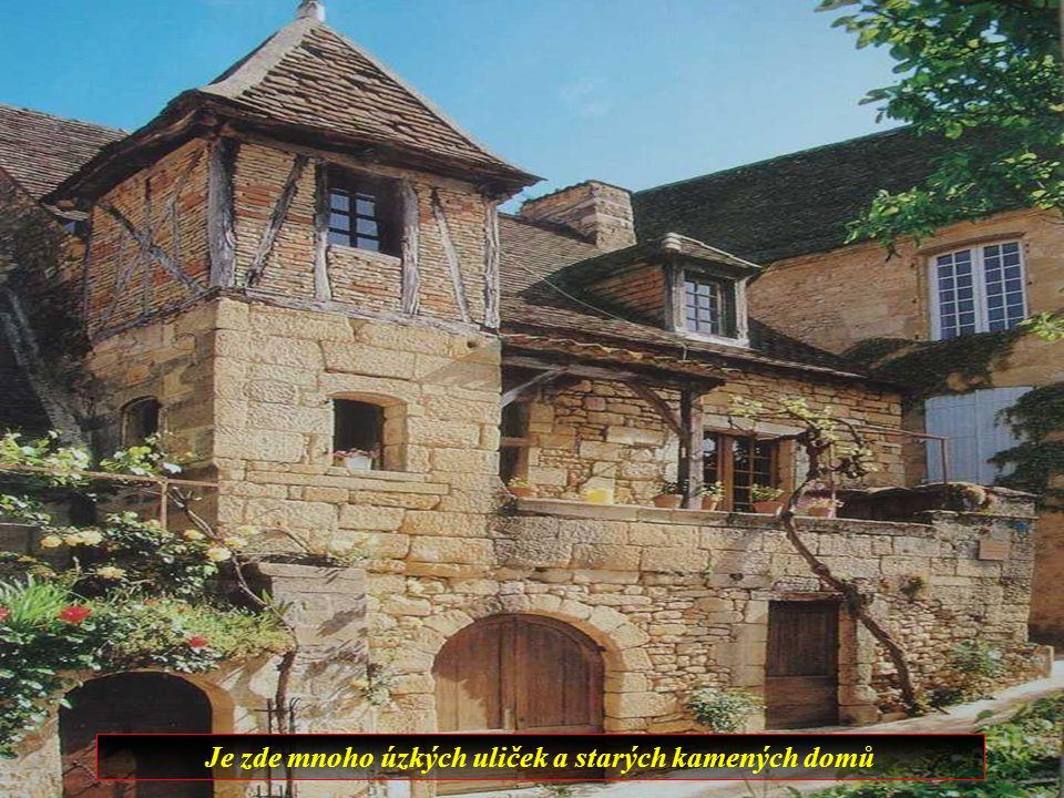 Sarlat je město které má velké množství středověkých domů, takže je to vlastně muzeum pod širým nebem.