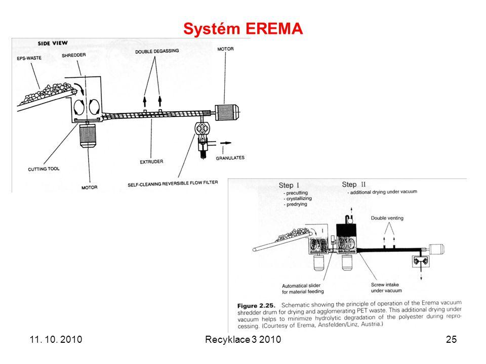 Systém EREMA Recyklace 3 20102511. 10. 2010