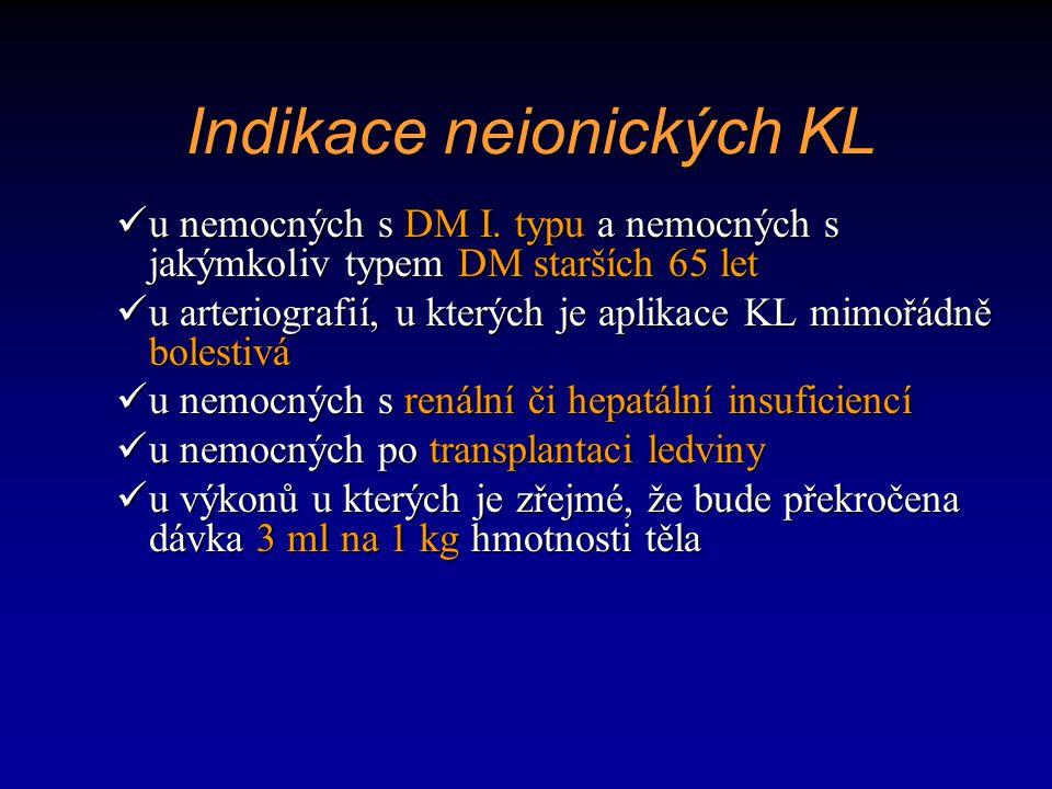 u nemocných s DM I. typu a nemocných s jakýmkoliv typem DM starších 65 let u nemocných s DM I. typu a nemocných s jakýmkoliv typem DM starších 65 let
