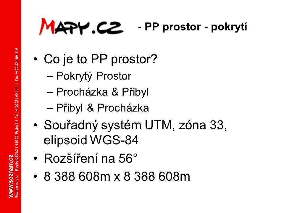 www.seznam.cz Seznam.cz, a.s. I Radlická 608/2 I 150 00 Praha 5 I Tel.: +420 234 694 111 I Fax: +420 234 694 115 - PP prostor - pokrytí Co je to PP pr