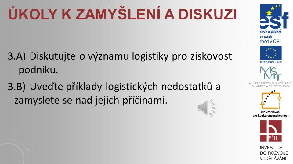 OTÁZKY A ÚKOLY 3.1) Vyjmenujete příklady konfliktů v rozhraních struktur logistických systémů. 3.2) Popište strukturu výrobního podniku. Použijte mode