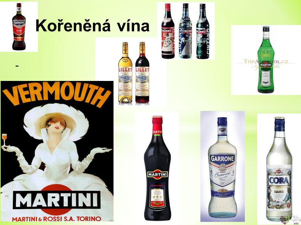 Kořeněná vína -