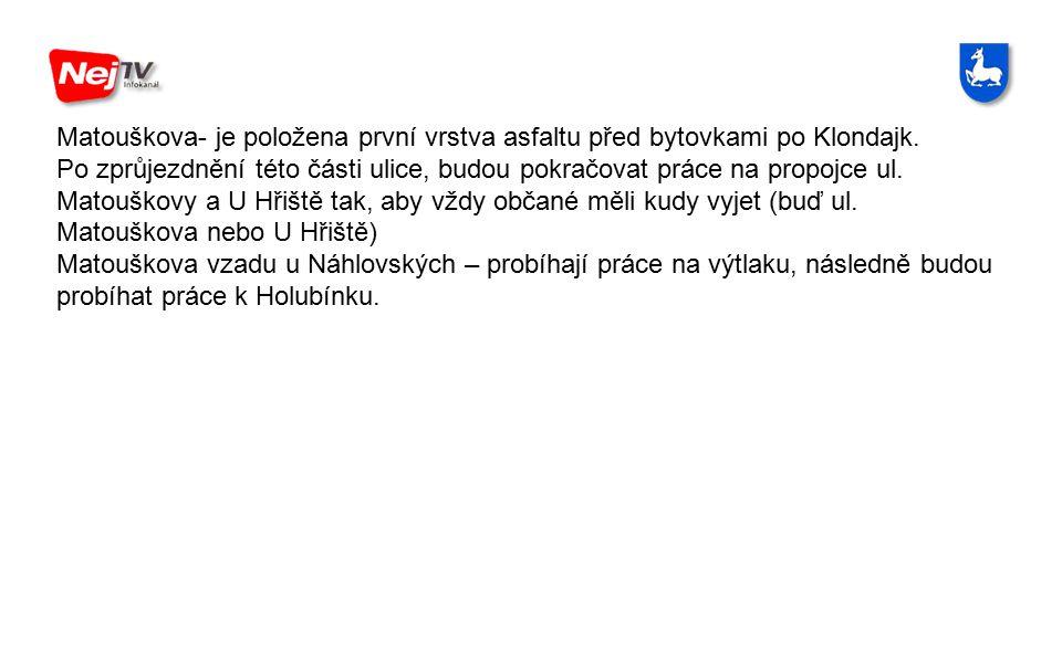 Vysílání Infokanálu NEJ - TV - Rovensko je zajišťováno ve spolupráci Nej TV a.s.