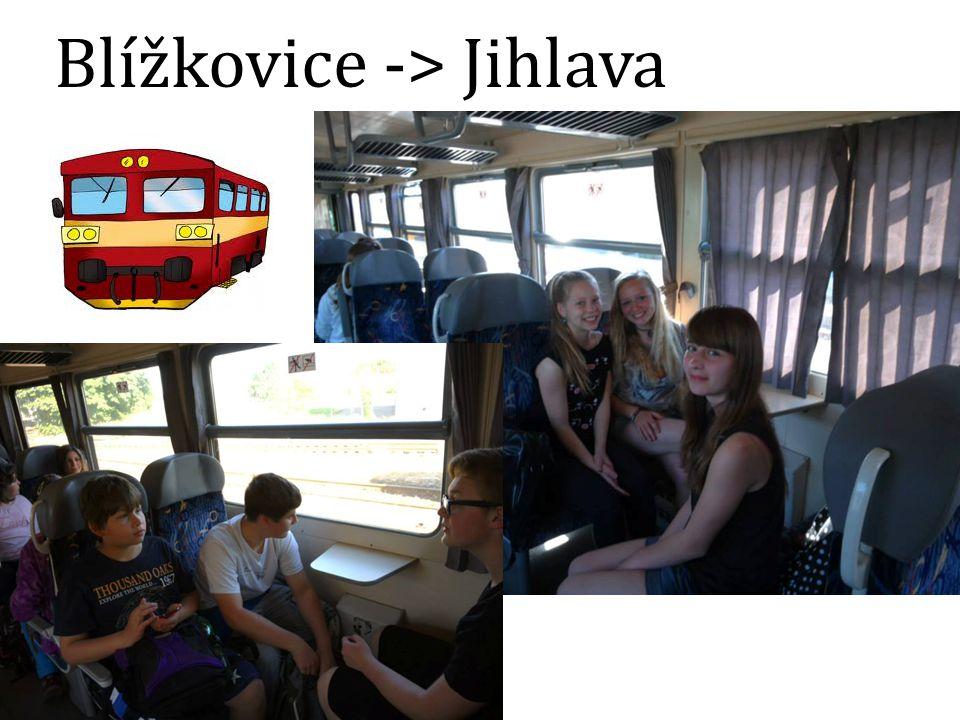 Blížkovice -> Jihlava